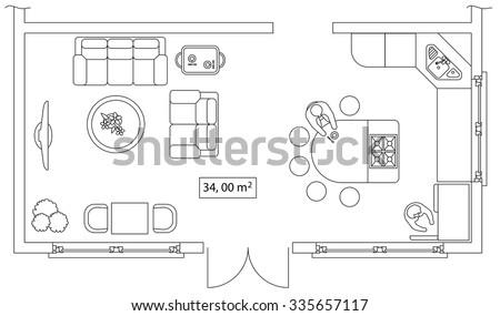 fice Floor Plan Vectors Download Free Vector Art Stock