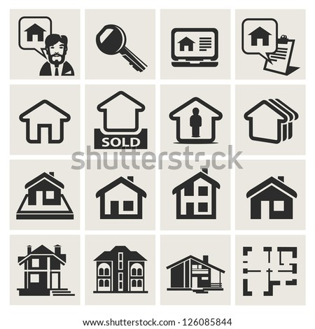 architecture - stock vector