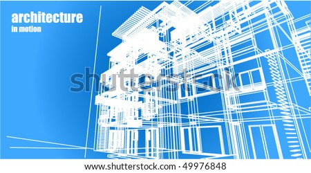 Architecture abstract background