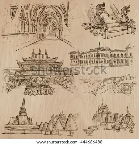 architecture and famous places