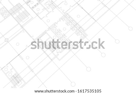 Architecture building design. Architectural drawings