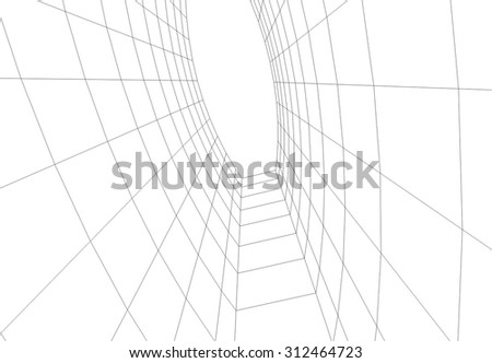 Architecture building vector design #312464723