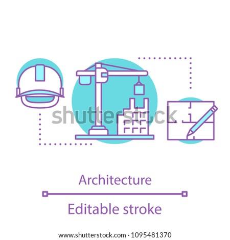 architecture concept icon