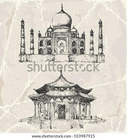 architecture of asia