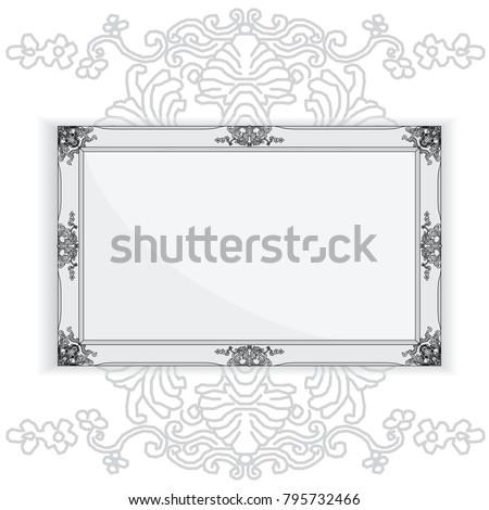 architecture picture frame