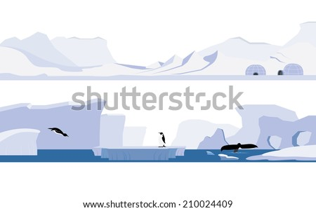 arctic and antarctica