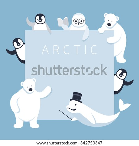 arctic animals characters show