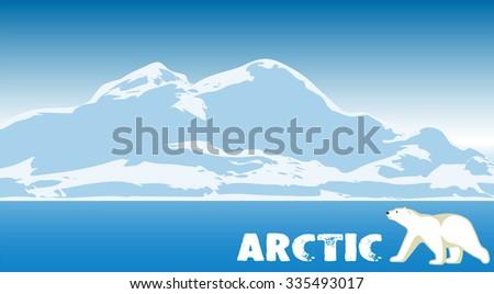 arctic landscape natural