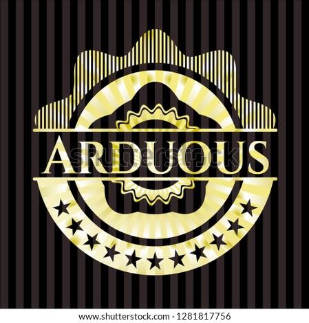 Arduous shiny badge