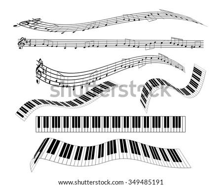 are different keyboard piano