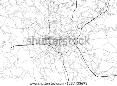 area map of ha noi  vietnam