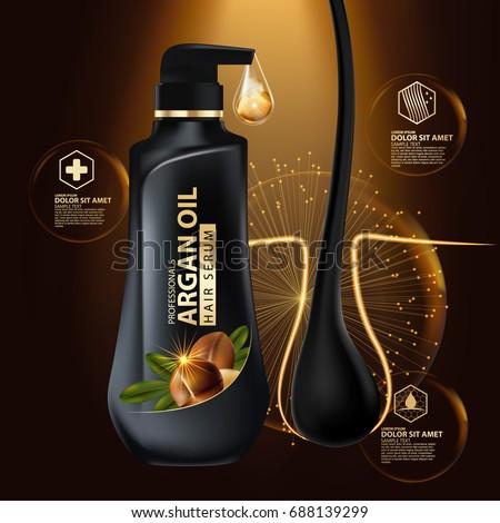 argan oil hair care protection
