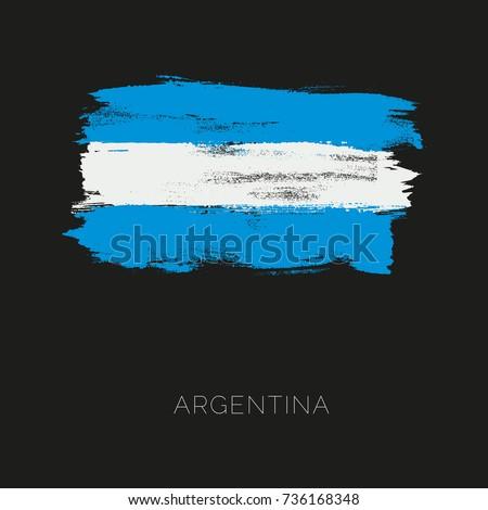 argentina colorful brush