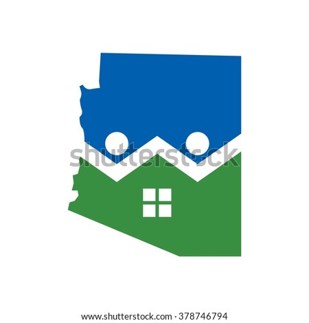 arizona home logo vector