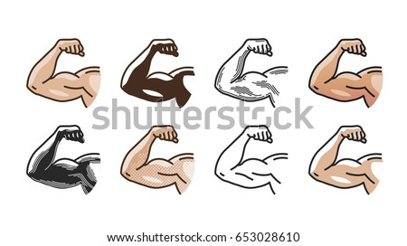 Arm Muscles Download Free Vector Art Stock Graphics Images