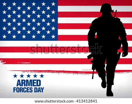 armed forces day template
