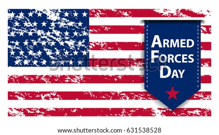 Armed forces day template poster design. Vector illustration of background for Armed forces day. Vector illustration of Celebration background for Armed Forces Day. Illustration of Armed forces day