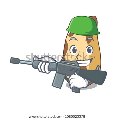 army brazil nut character