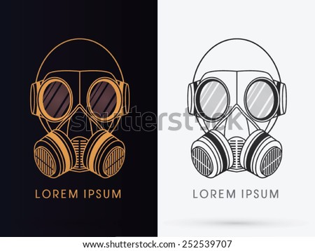 army gas mask  design using