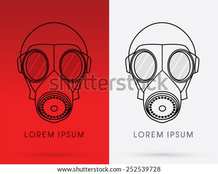 army gas mask  designed using