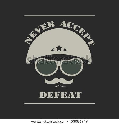 army helmet emblem military