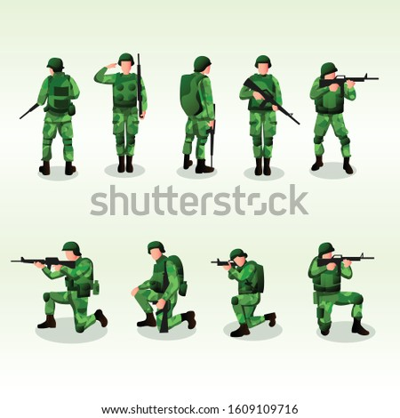 army or soldier character