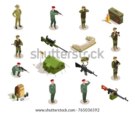 army personnel military kit