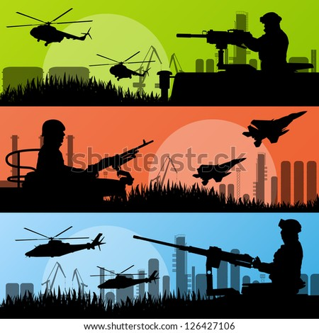 army soldiers  planes
