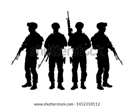 army soldiers with sniper rifle