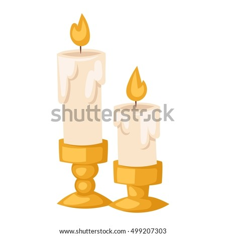 aroma candle isolated spa
