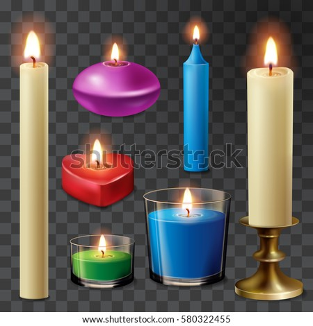 aromatherapy candles flame