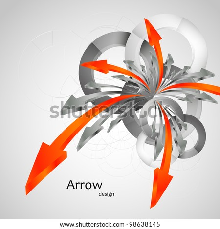 arrow business background