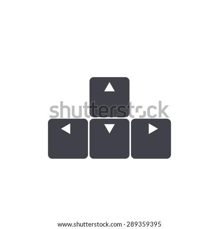 arrow buttons keyboard