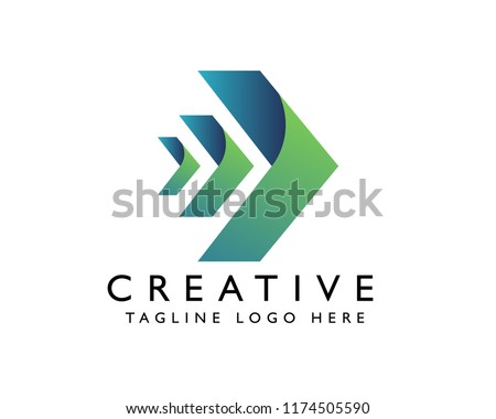 Arrow company | vector logo | Arrow icon | Template