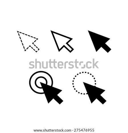 arrow cursor icon