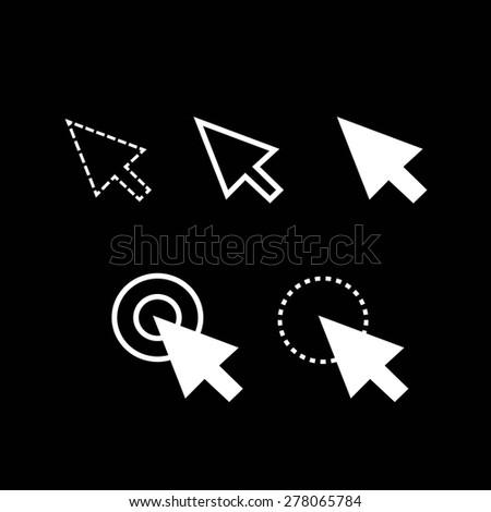 arrow cursor icons