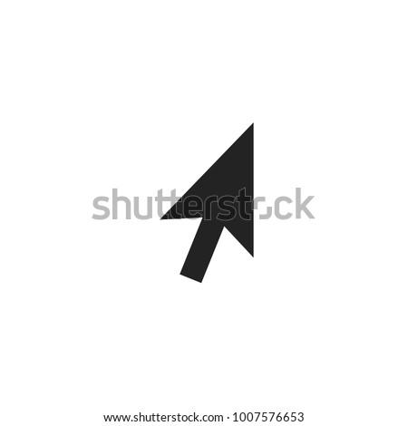 Arrow Cursor Pointer Icon Vector