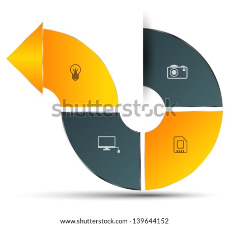 stock-vector-arrow-four-step-can-use-for-business-concepts-brochure-business