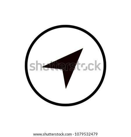 Arrow gps icon