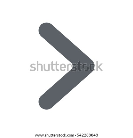 arrow Icon, flat design style