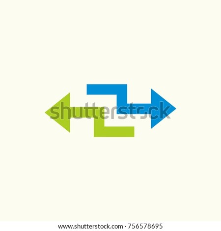 arrow icon for direction and illustration