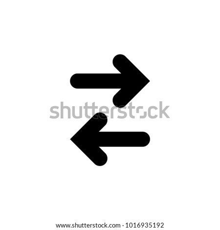 arrow icon in trendy flat style isolated . arrow symbol for your web site design,logo,app,UI.vector illustration, EPS10