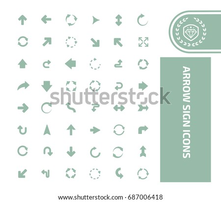 Arrow icon set,vector
