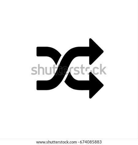 Arrow icon stock - Vector icon Arrow icon stock Icon Vector