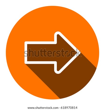 Arrow icon stock vector illustration