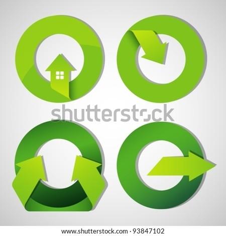 arrow icons and symbols. design elements