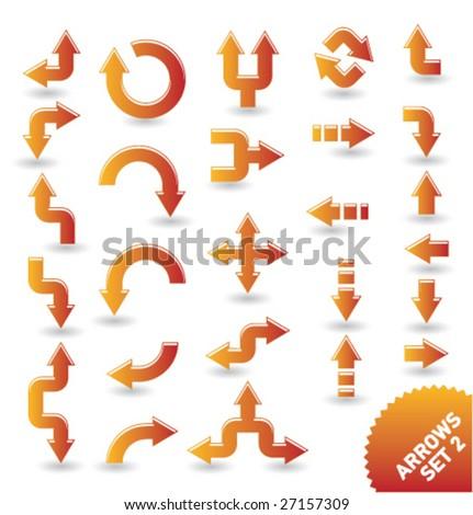 arrow icons [set 2]