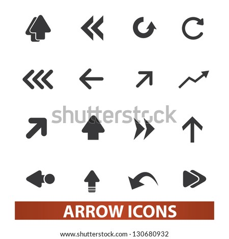 Arrow Icon Set Arrow Icons Set Vector