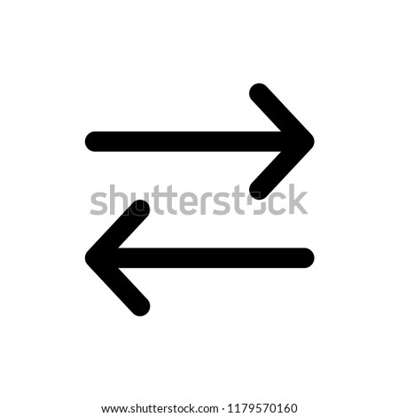 arrow - navigation icon vector