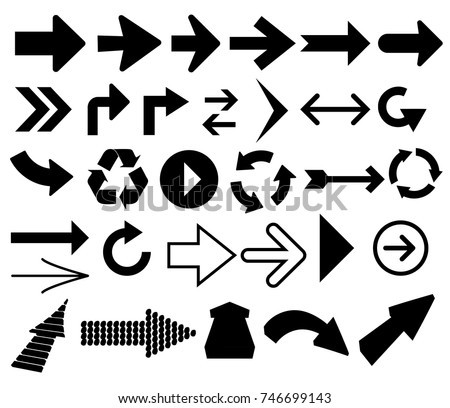 Arrow pointers direction